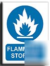 Flammable storage sign-a.vinyl-300X400MM(ma-027-am)