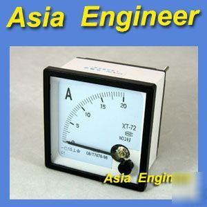 New brand analog amp panel meter + shunt dc 20A