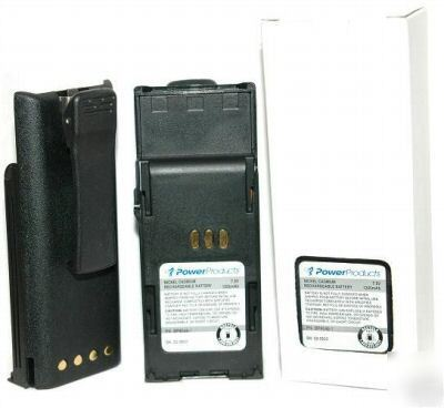 P1225 battery for motorola radios kit of 5 batteries