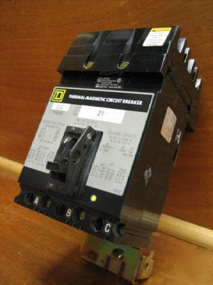 Square d i-line breaker FH36080 80AMP a 80A