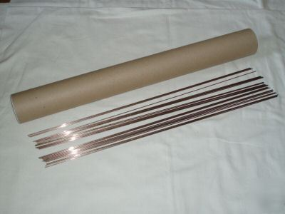 25 1.5 x 450MM silver/hard solder rods