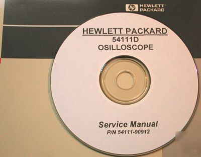 Hp hewlett packard 54111D service manual