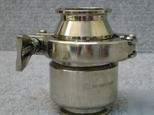 Hygienic stainless steel check valve 3