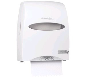 Kc 9995 windows® sanitouch® hard roll towel dispenser -