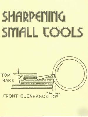 Sharpening small tools how to book
