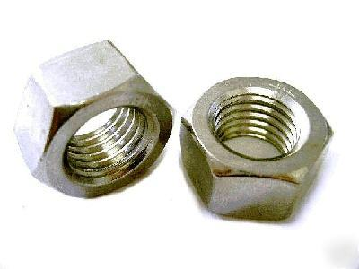 Stainless steel hex nut 1/4-28 fine threaded