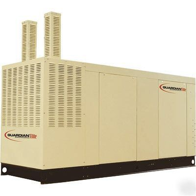 Standby generator - 80 kw - guardian - natural gas