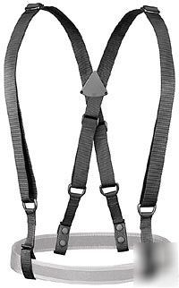Uncle mike's adjustable duty suspenders size sm / md