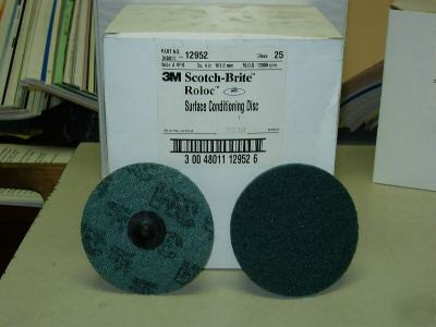 3M roloc surface conditioning disc 4