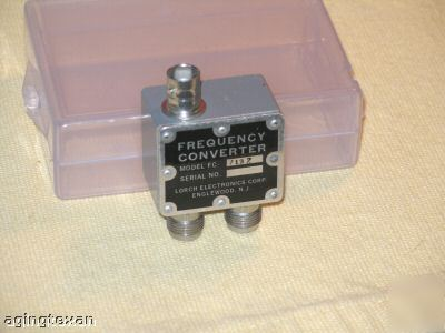 Lorch electronics model FC2187 frequency converter