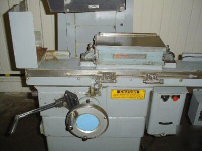 Brown & sharpe micromaster 612 surface grinder 6