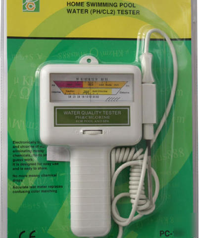 Swimming pool ph spa water ph cl2 chlorine tester v06 - Swimming pool equipment philippines ...