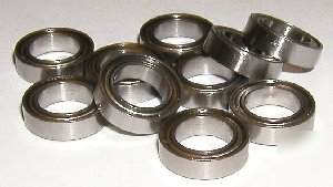 10 steel/metal 7X13 stainless 7X13X4 ball bearings vxb