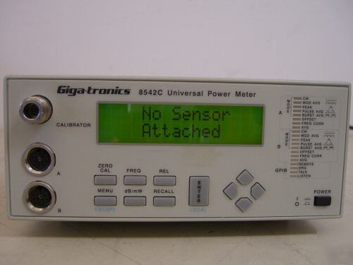 Gigatronics 8542C rf power meter, dual channel - tested
