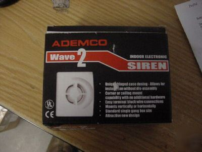 Lot of 10 ademco/honeywell wave 2 two-tone siren