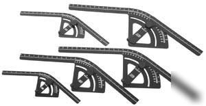 Mittler brothers complete bend protractor set